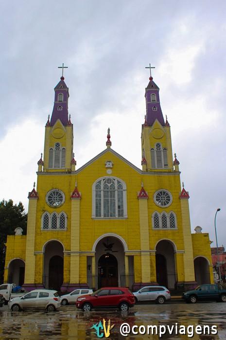 Igreja San Francisco, em Castro