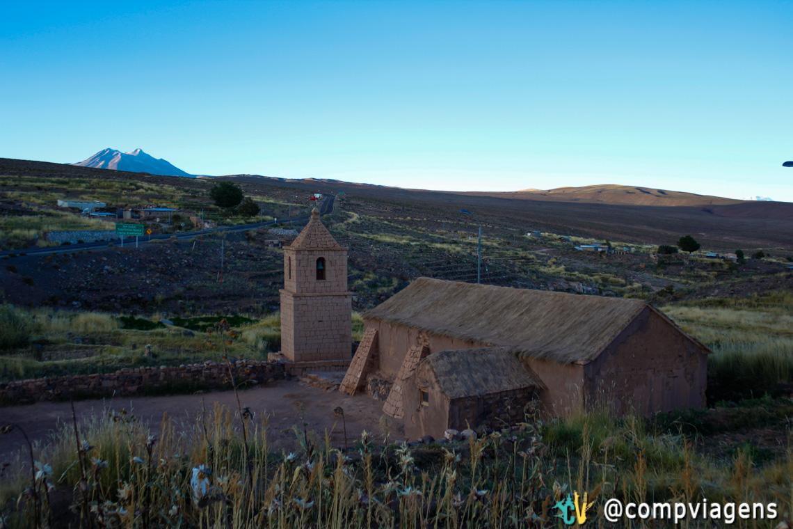 Igreja velha de Socaire