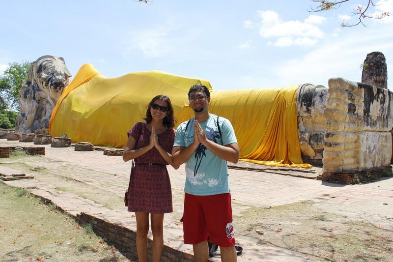 Na Tailândia, durante nossa Volta ao Mundo