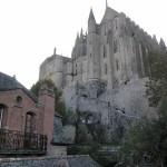 Escadas para entrar na abadia