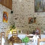 Local agradável e simpático com um cardápio de ótimo gosto em Saint Michel