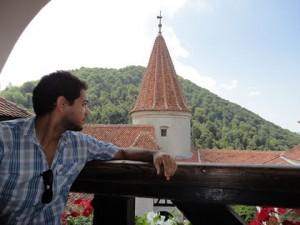 Jorge no Castelo de Bran