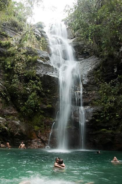 Cachoeira Santa Bárbara (a segunda e maior). Beleza maior não há!
