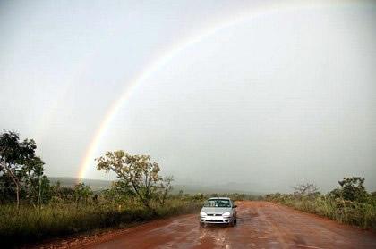 Arco-íris. No caminho para São Jorge