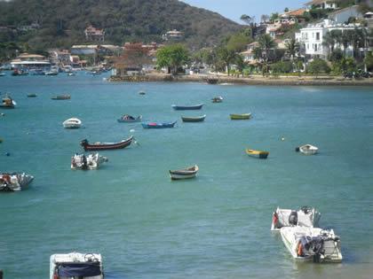 Vista do passeio de barco