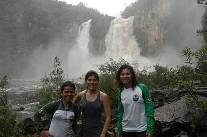 Salto II. Cachoeira de 80 metros