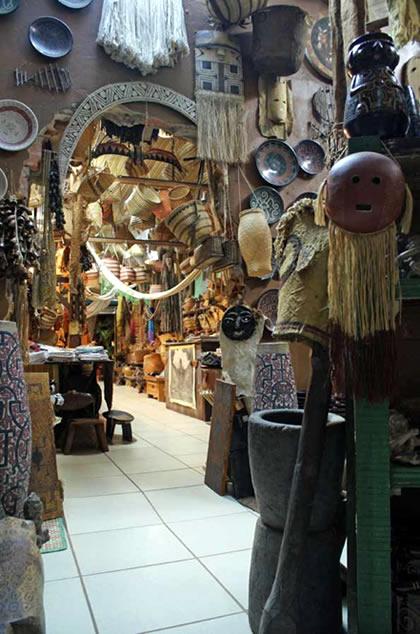 Loja de artesanato em Altér do Chão