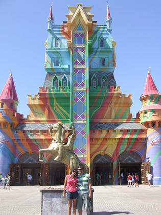 Entrada do Beto Carrero World: Castelo das Nações