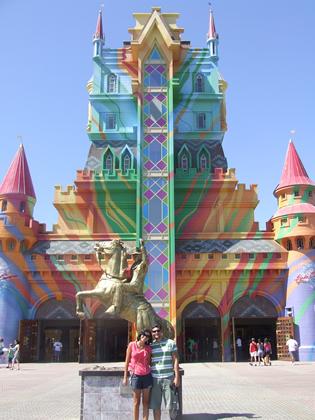 Entrada do Beto Carrero World: Castelo das Nações