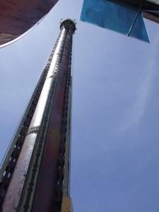 A Big Tower tem 100 m de altura