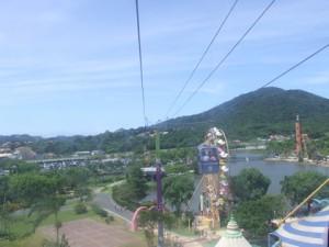 Vista do teleférico