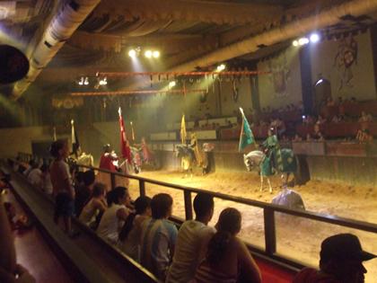 Show do Excalibur remonta à Idade Média