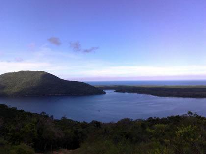 Panorâmica da Lagoa da Conceição