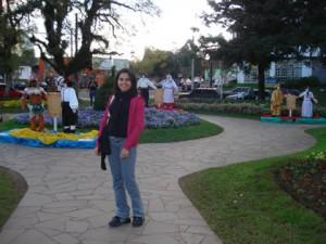 Nova Petrópolis, Praça das Flores