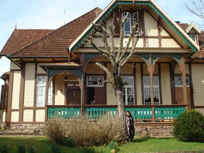 Canela: Castelinho Caracol ou Casa da Família Franzen