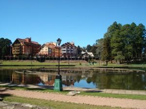 Lago Joaquina Rita Bier, em Gramado
