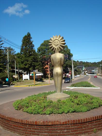Estátua do troféu Kikito