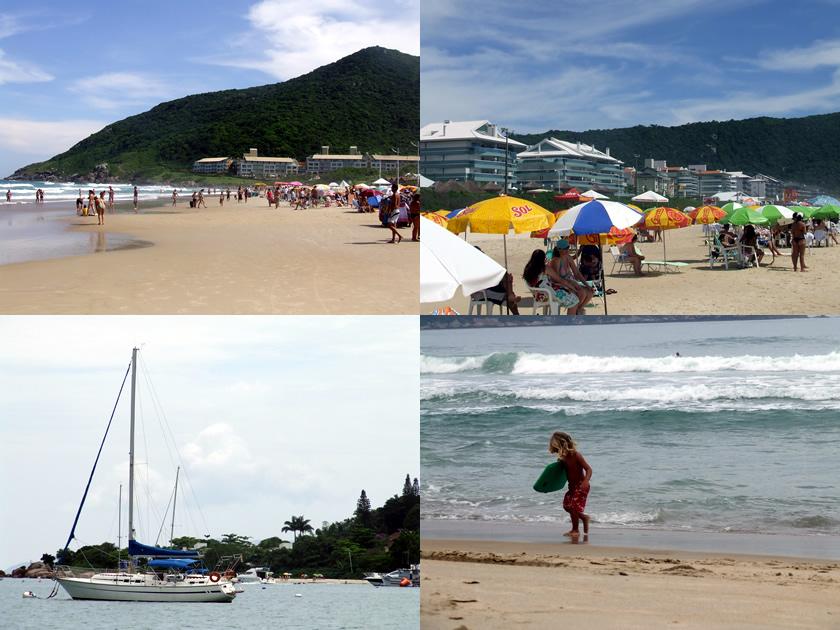 Praias: Santinho, Brava, Jurerê, Campeche