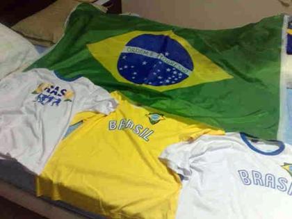Camisas do Brasil para representar o país no Smirnoff Experience
