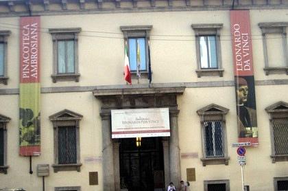Pinacoteca e a Biblioteca Ambrosiana