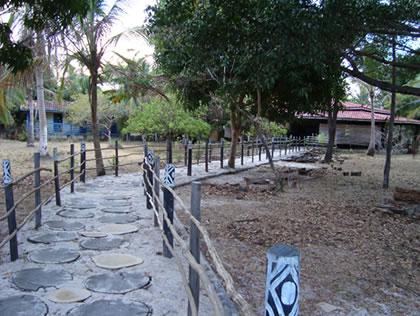 Entrada da sede da Fazenda São Jerônimo