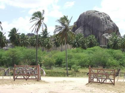 Entrada do Parque da Pedra da Boca