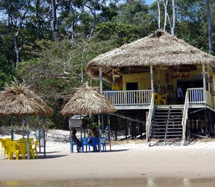 Barraca de praia em Barra Velha