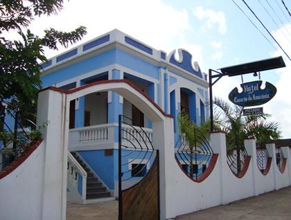 Fachada do Hotel Casarão da Amazônia