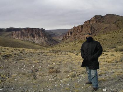 Cañadón (Canyon) del Río Pintura, Patagônia argentina, 2006