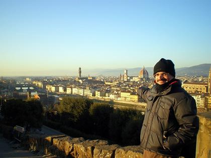 Vista de Florença desde o Piazzale Michelangelo, 2011