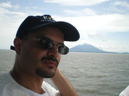 Rumo à Isla de Ometepe, Lago Cocibolca, Nicarágua, 2010