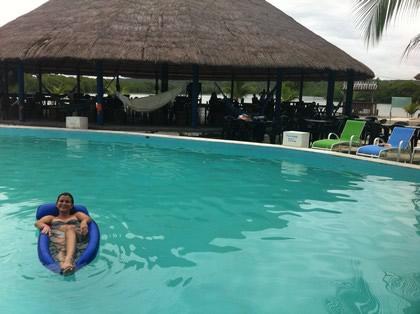 Curtindo a vida boa na Ilha
