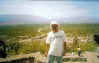 Ruinas de Quilmes, da civilização pré-incáica dos calchaquíes. Tucumán, Argentina, 2005