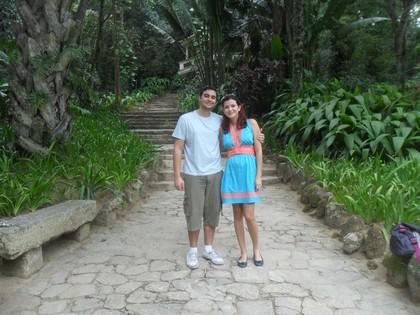 Fred e eu no Jardim Botânico: passeio bacana para quem gosta de contato com a natureza