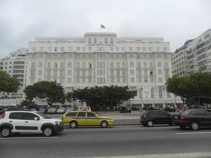 Nosso hotel! Brincadeirinha! Copacabana Palace