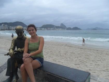 Com meu amigo Carlos Drummond