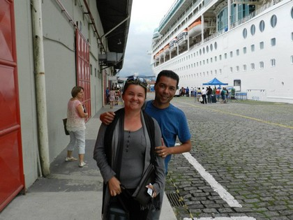 Embarque em Santos (SP)