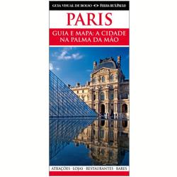Guia Visual de Bolso da Folha de S. Paulo. Comprei o de Paris e Londres, além dos pontos turísticos, o guia traz um mapa