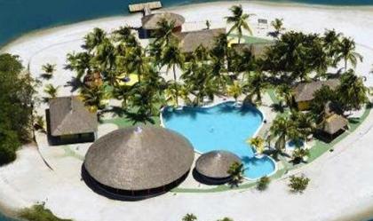 Vista aérea da Ilha do Carlito. Foto: http://ilhacarlito.com