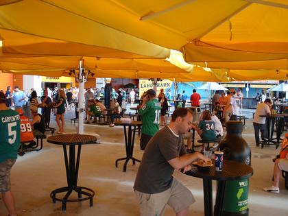 Praça de Alimentação do Sunlife Stadium