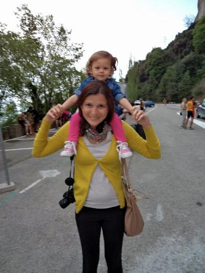Subindo a montanha com Laia