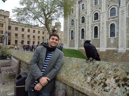 Fred e dos corvos da Torre de Londres