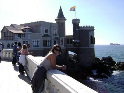 Castelo em Viña del Mar