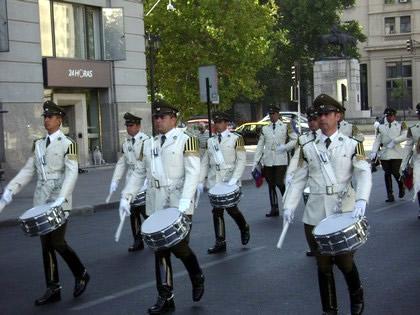 Desfile da troca da guarda