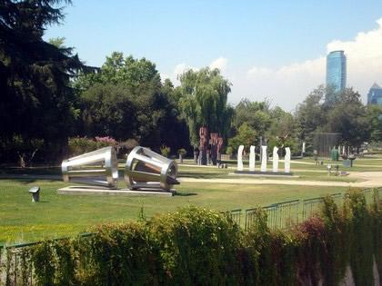 Praça das esculturas
