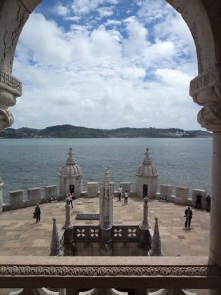 Rio Tejo visto da Torre de Belém