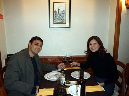Jantar no Laurentina Restaurante