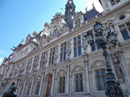 Hôtel de Ville, prefeitura de Paris