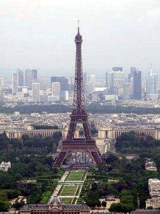 Torre Eiffel vista da Montparnasse