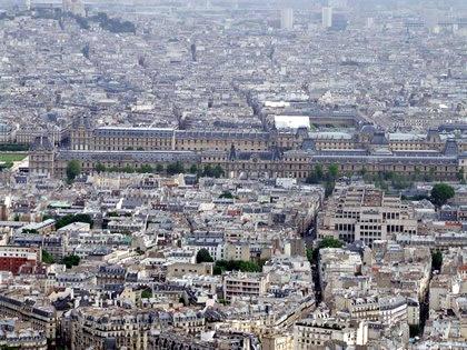 Museu do Louvre visto da Montparnasse